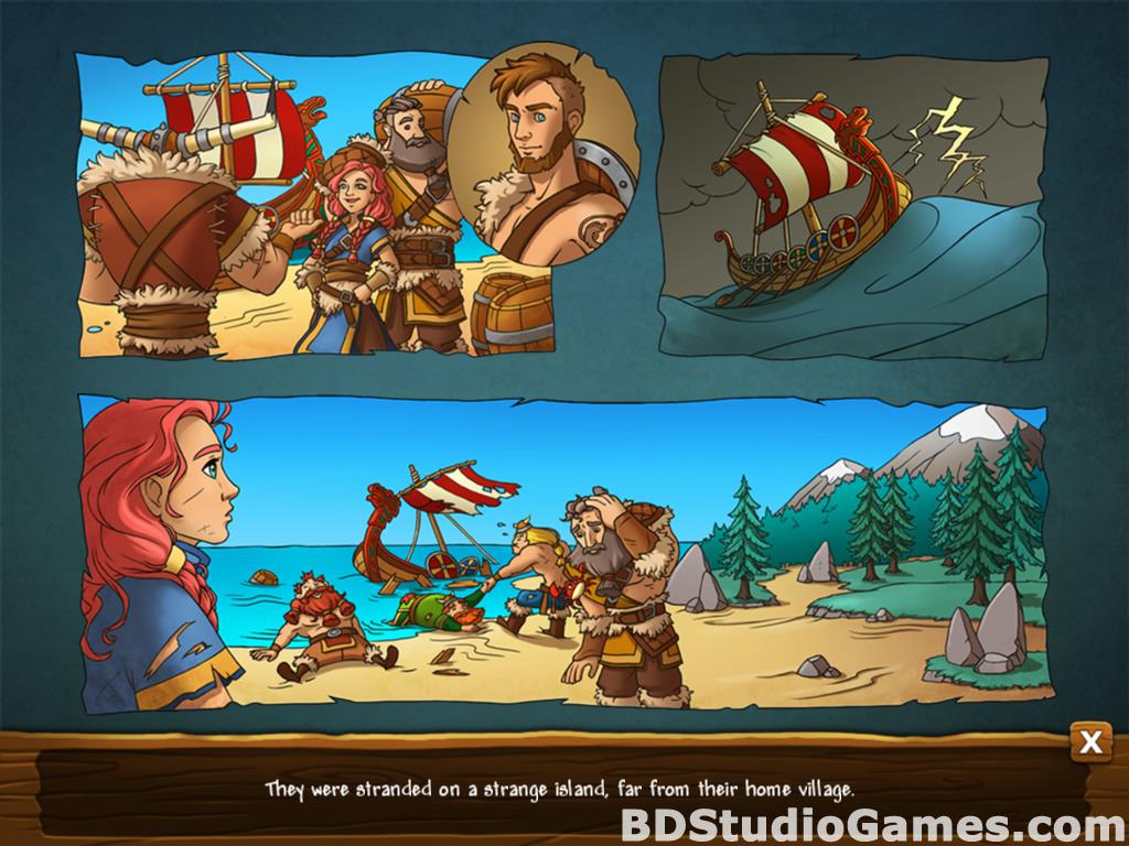 Secrets of the Vikings: Mystery Island Free Download Screenshots 03