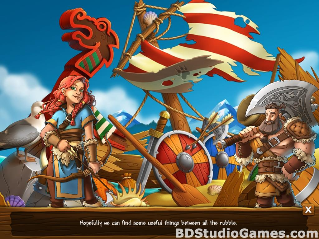 Secrets of the Vikings: Mystery Island Free Download Screenshots 05