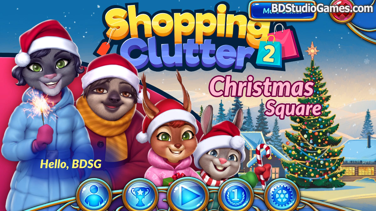 Shopping Clutter 2: Christmas Square Free Download Screenshots 1