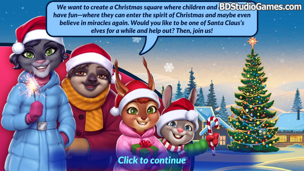 Shopping Clutter 2: Christmas Square Free Download Screenshots 2
