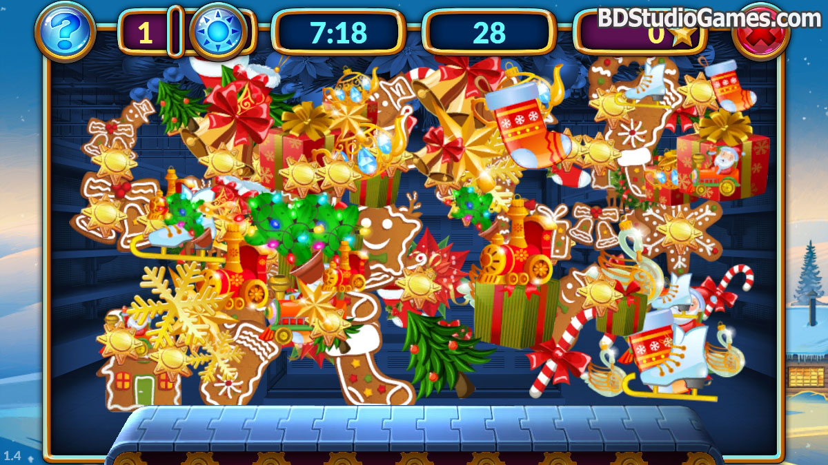 Shopping Clutter 2: Christmas Square Free Download Screenshots 8