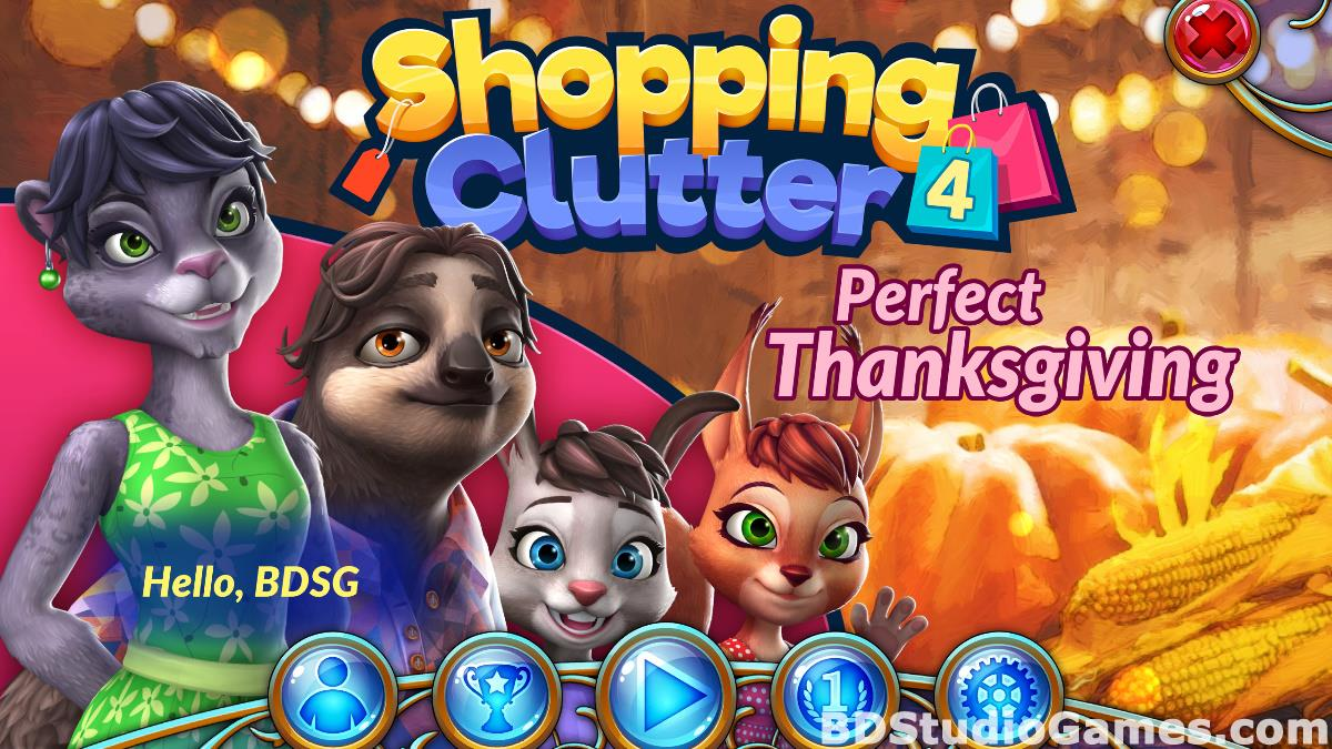 Shopping Clutter 4: A Perfect Thanksgiving Free Download Screenshots 01