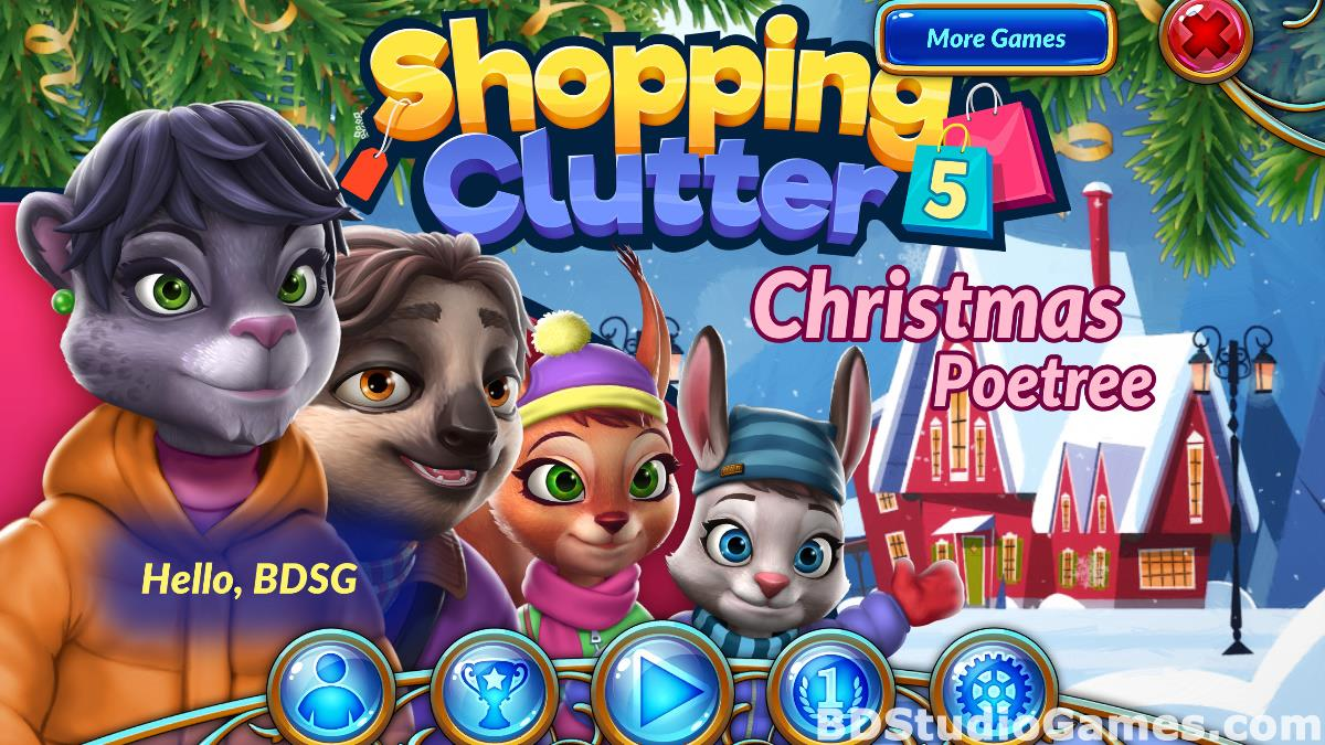 Shopping Clutter 5: Christmas Poetree Free Download Screenshots 01