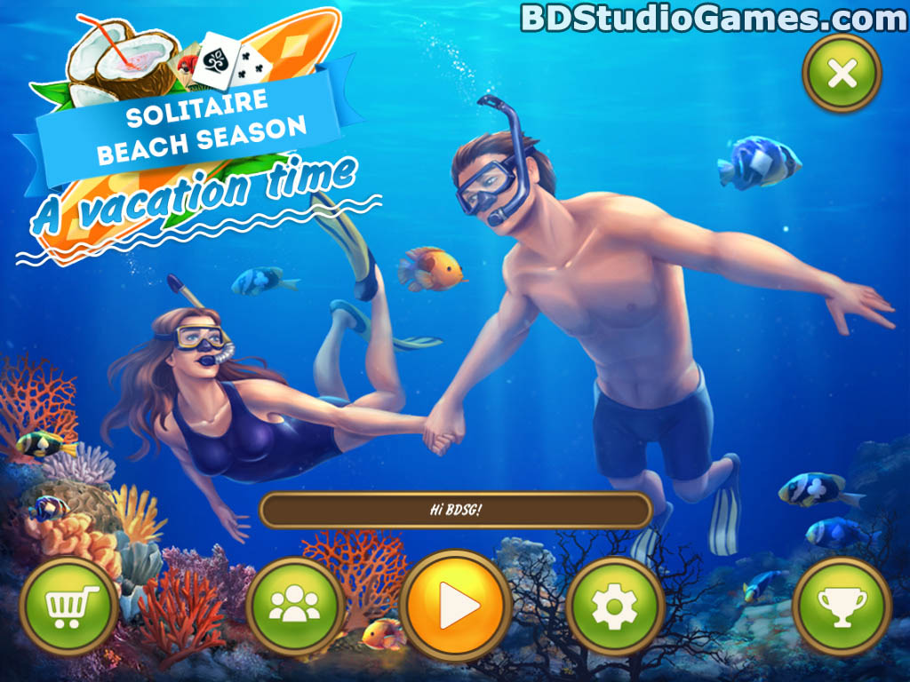 Solitaire Beach Season: A Vacation Time Game Free Download Screenshots 01