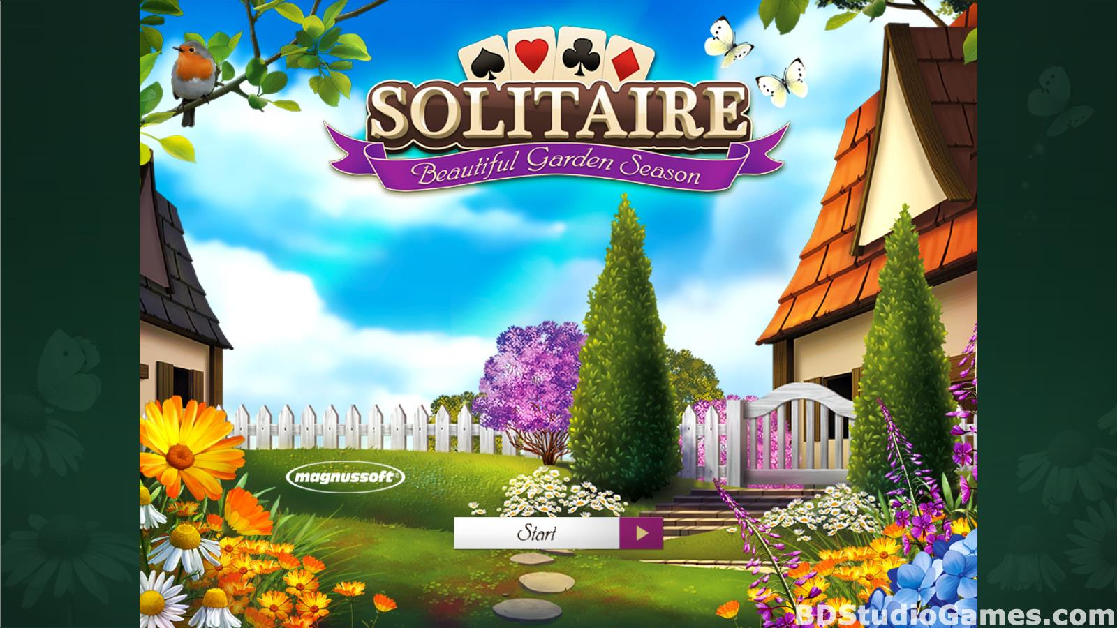 Solitaire Beautiful Garden Season Free Download Screenshots 01