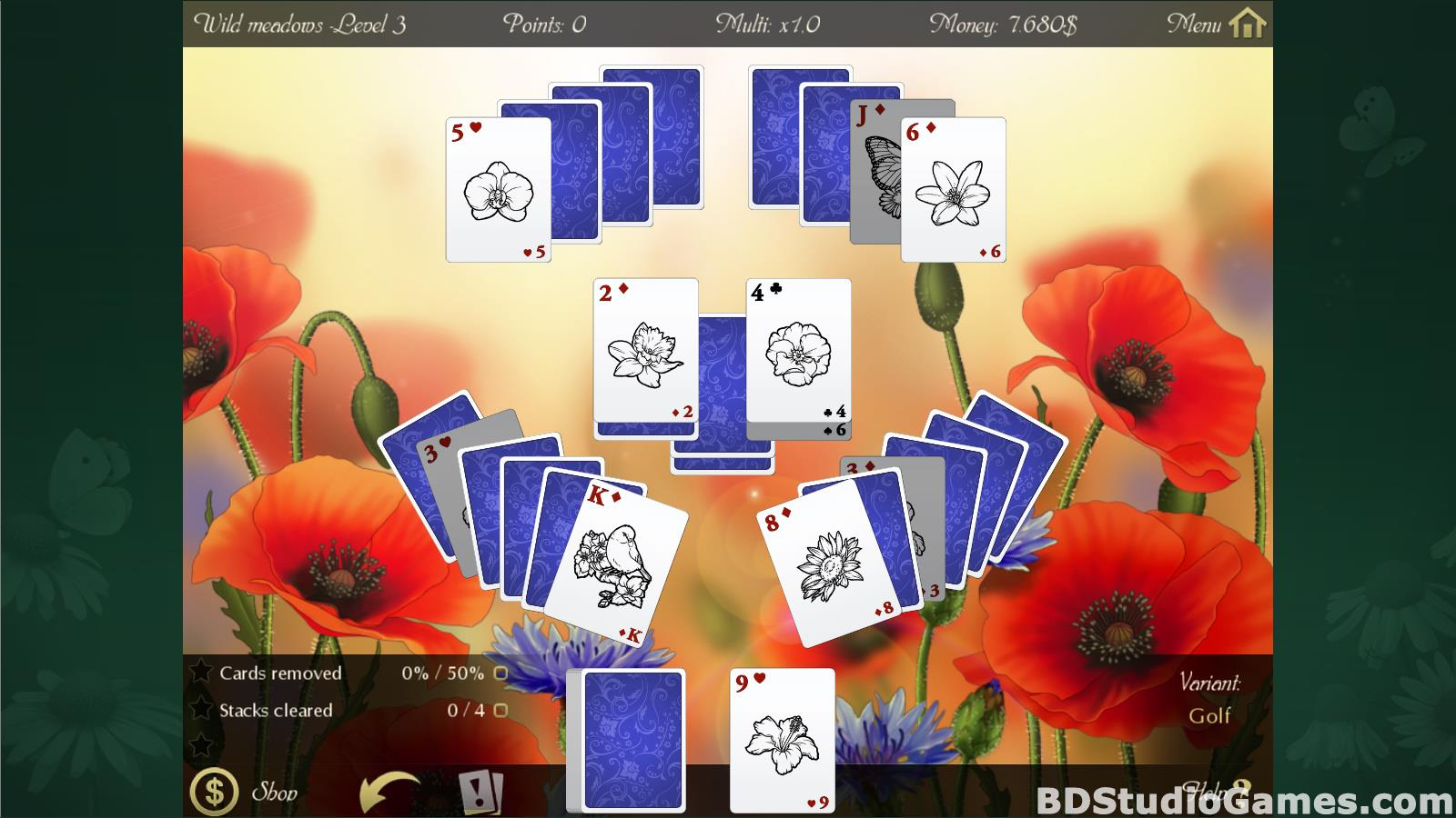 Solitaire Beautiful Garden Season Free Download Screenshots 10