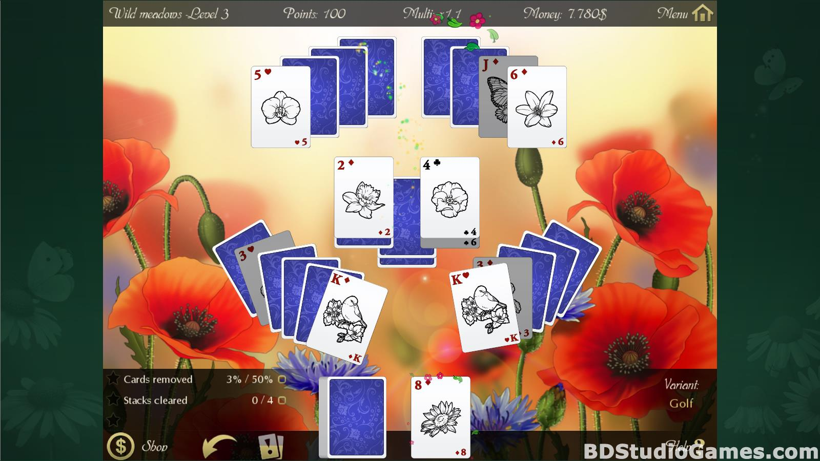 Solitaire Beautiful Garden Season Free Download Screenshots 11