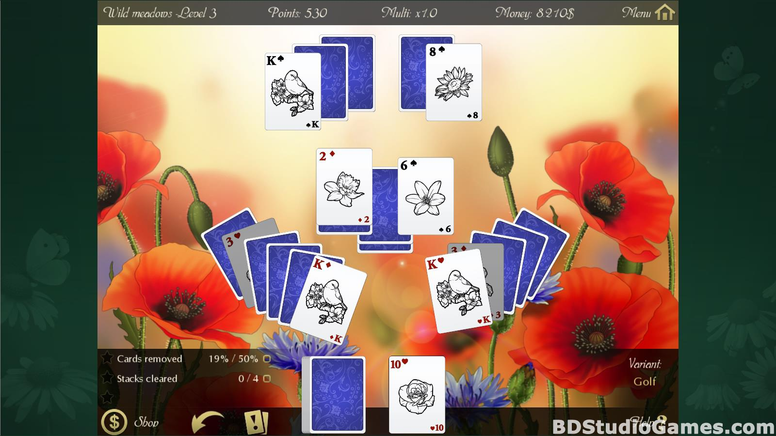 Solitaire Beautiful Garden Season Free Download Screenshots 12