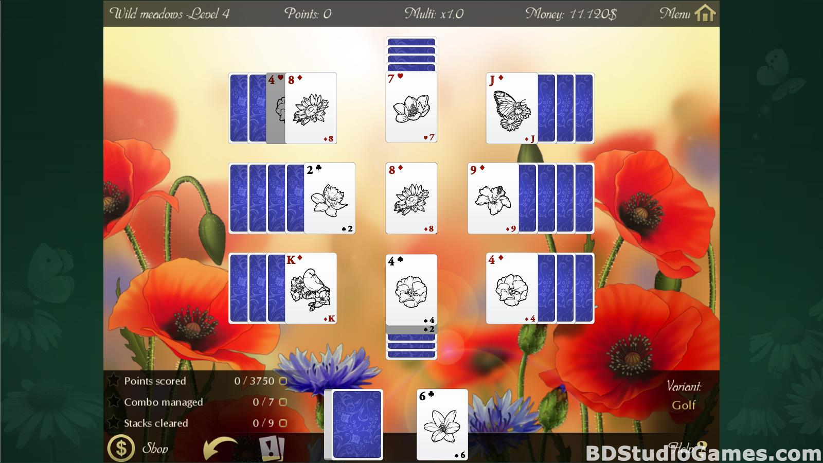 Solitaire Beautiful Garden Season Free Download Screenshots 13