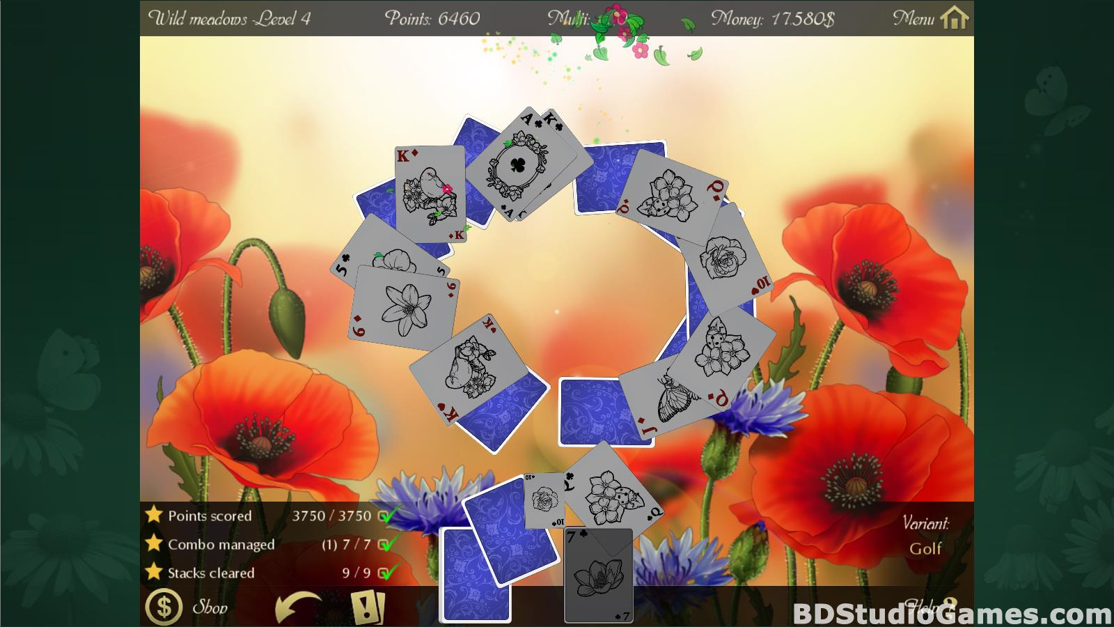 Solitaire Beautiful Garden Season Free Download Screenshots 14