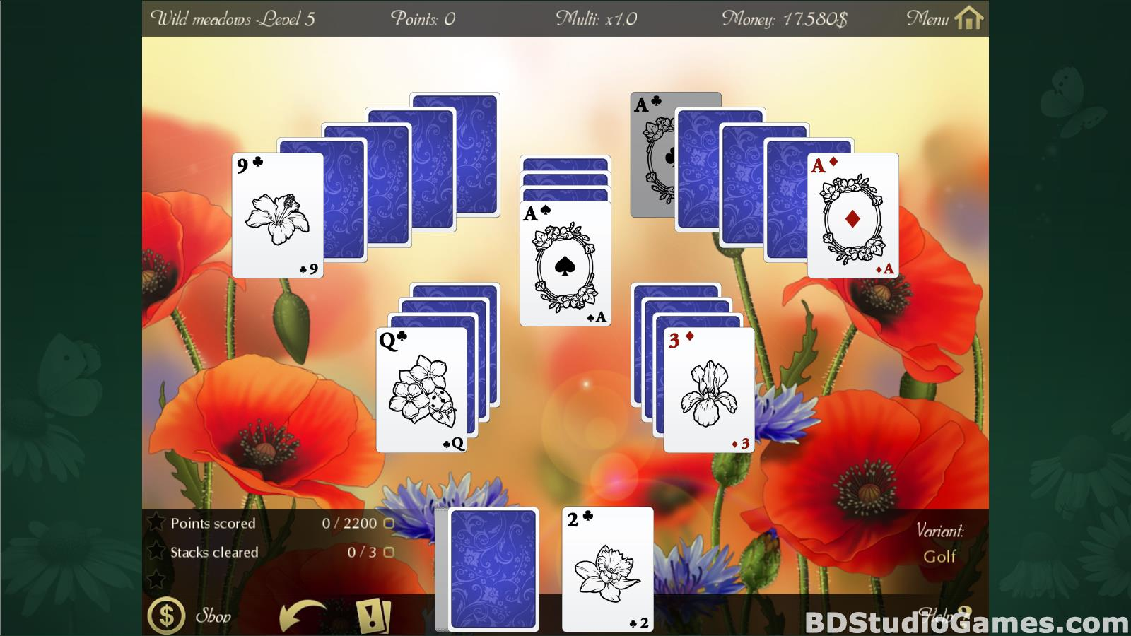 Solitaire Beautiful Garden Season Free Download Screenshots 15