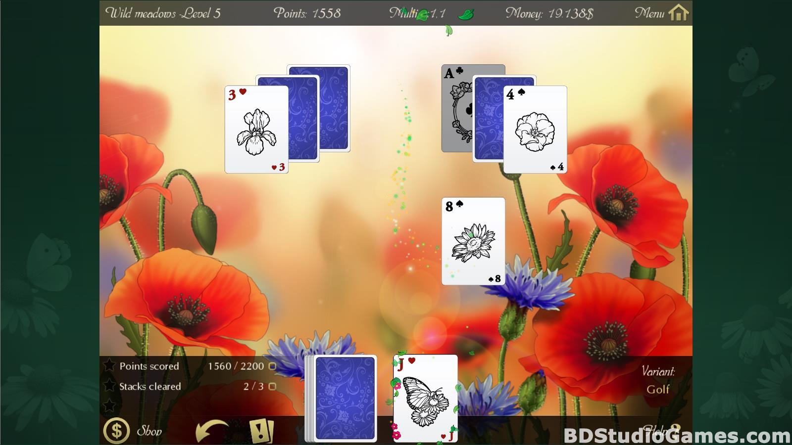 Solitaire Beautiful Garden Season Free Download Screenshots 16