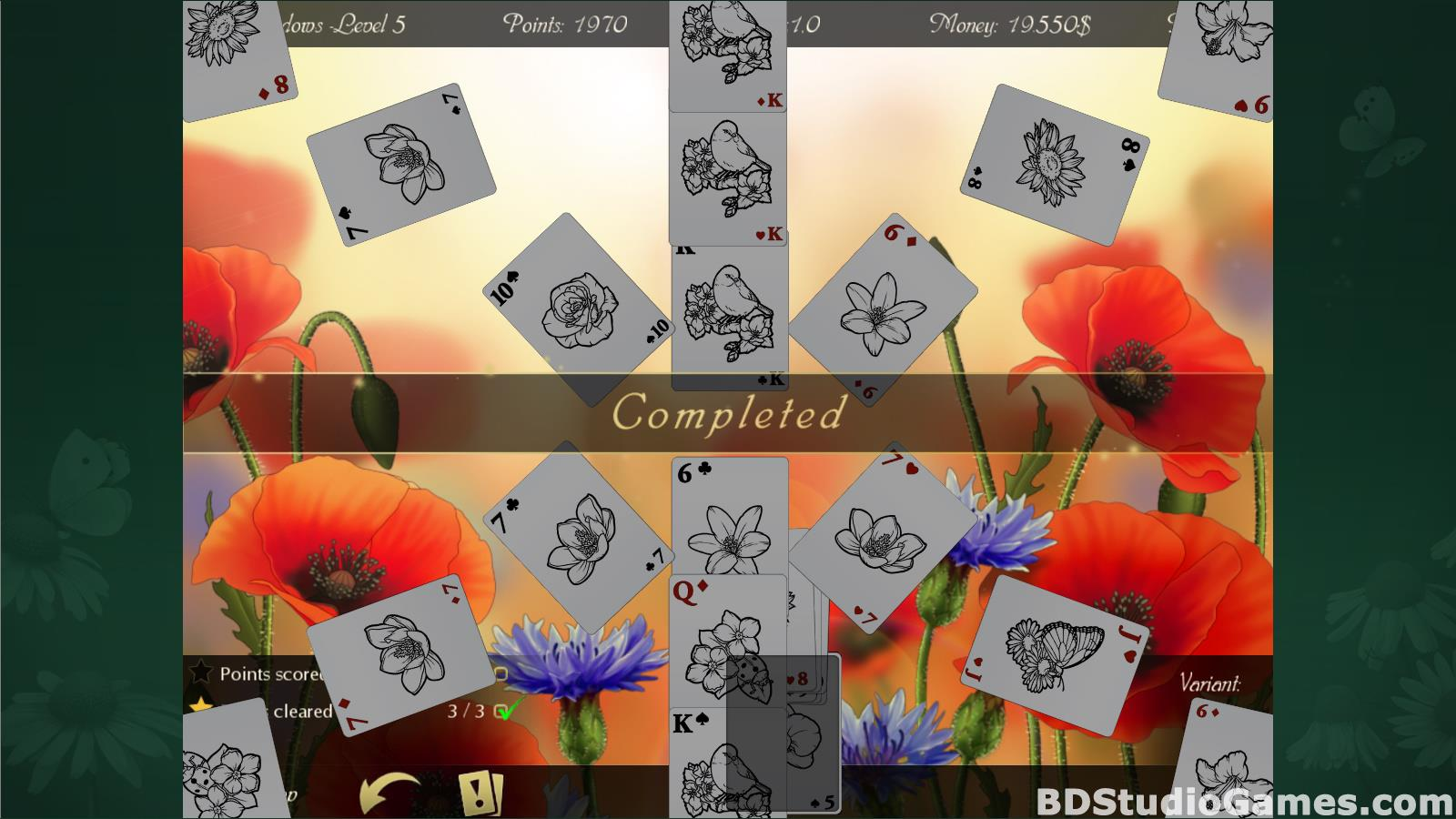 Solitaire Beautiful Garden Season Free Download Screenshots 17