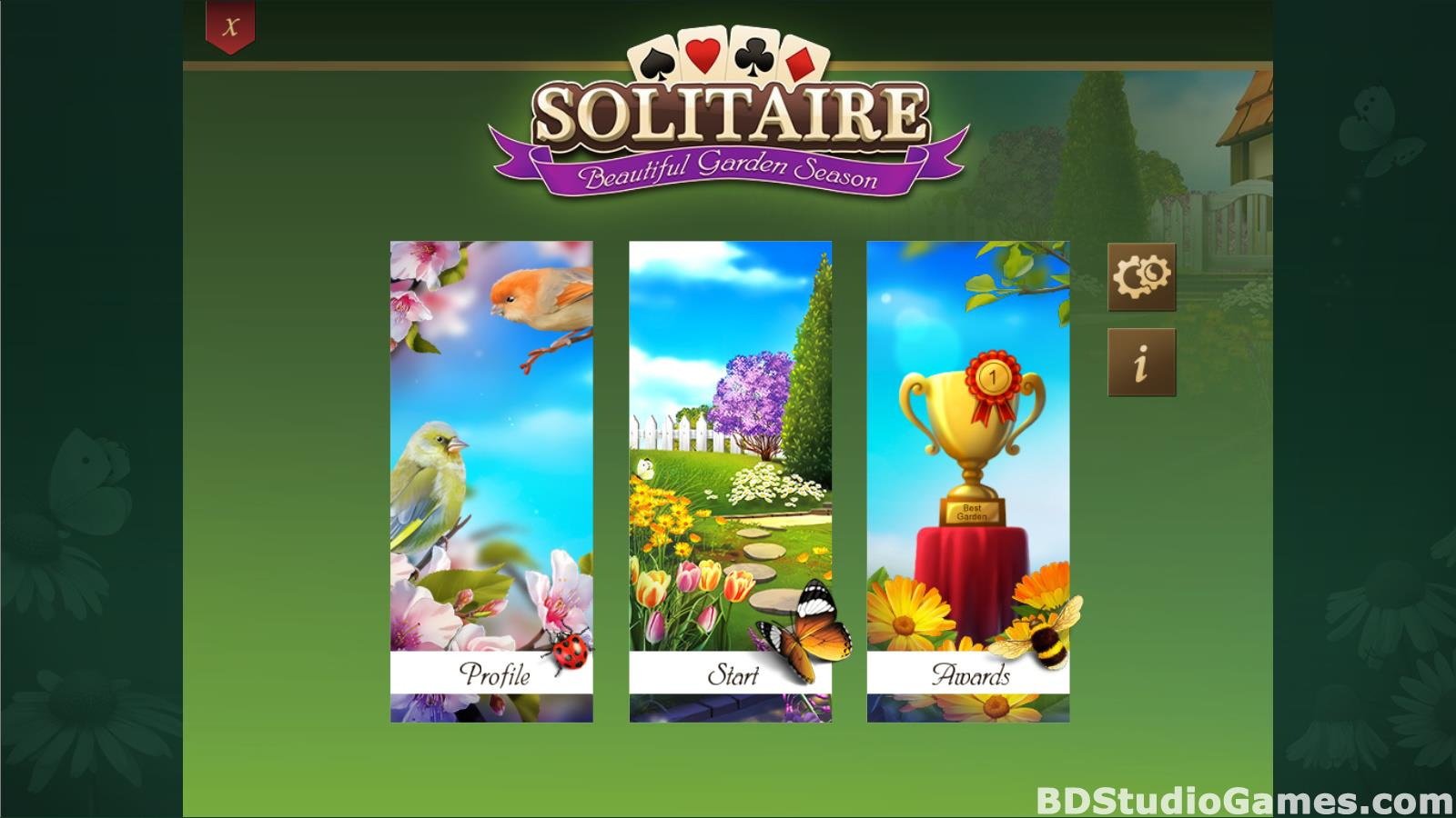 Solitaire Beautiful Garden Season Free Download Screenshots 02