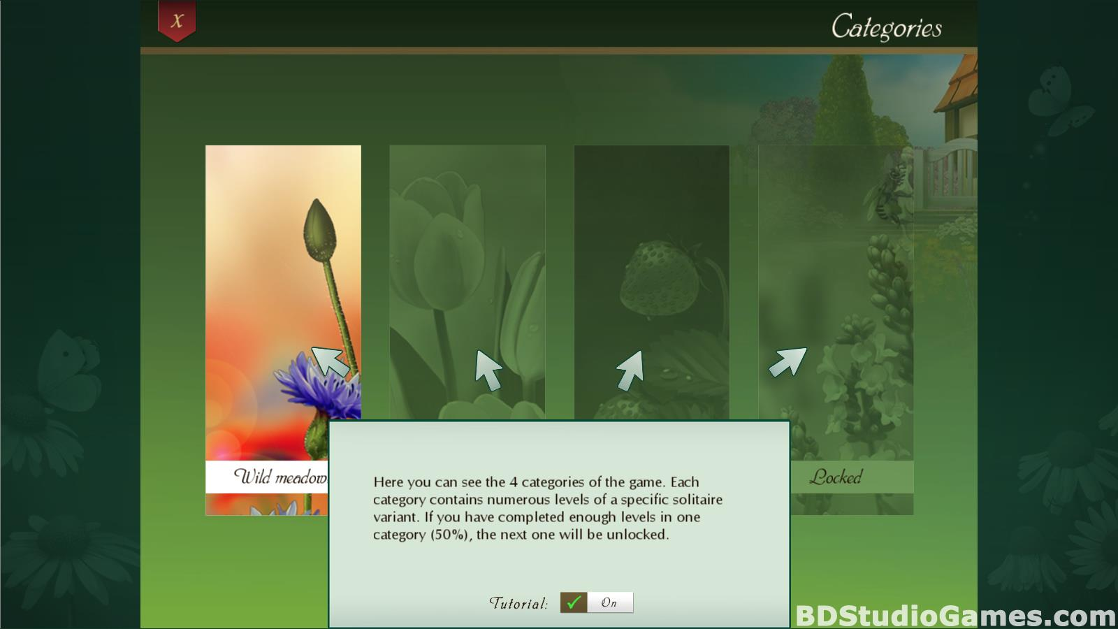 Solitaire Beautiful Garden Season Free Download Screenshots 03
