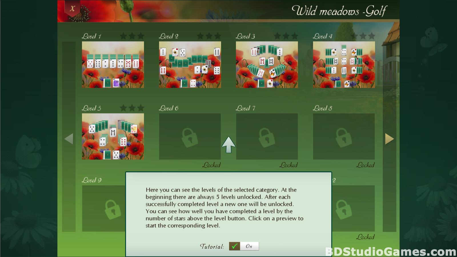 Solitaire Beautiful Garden Season Free Download Screenshots 04