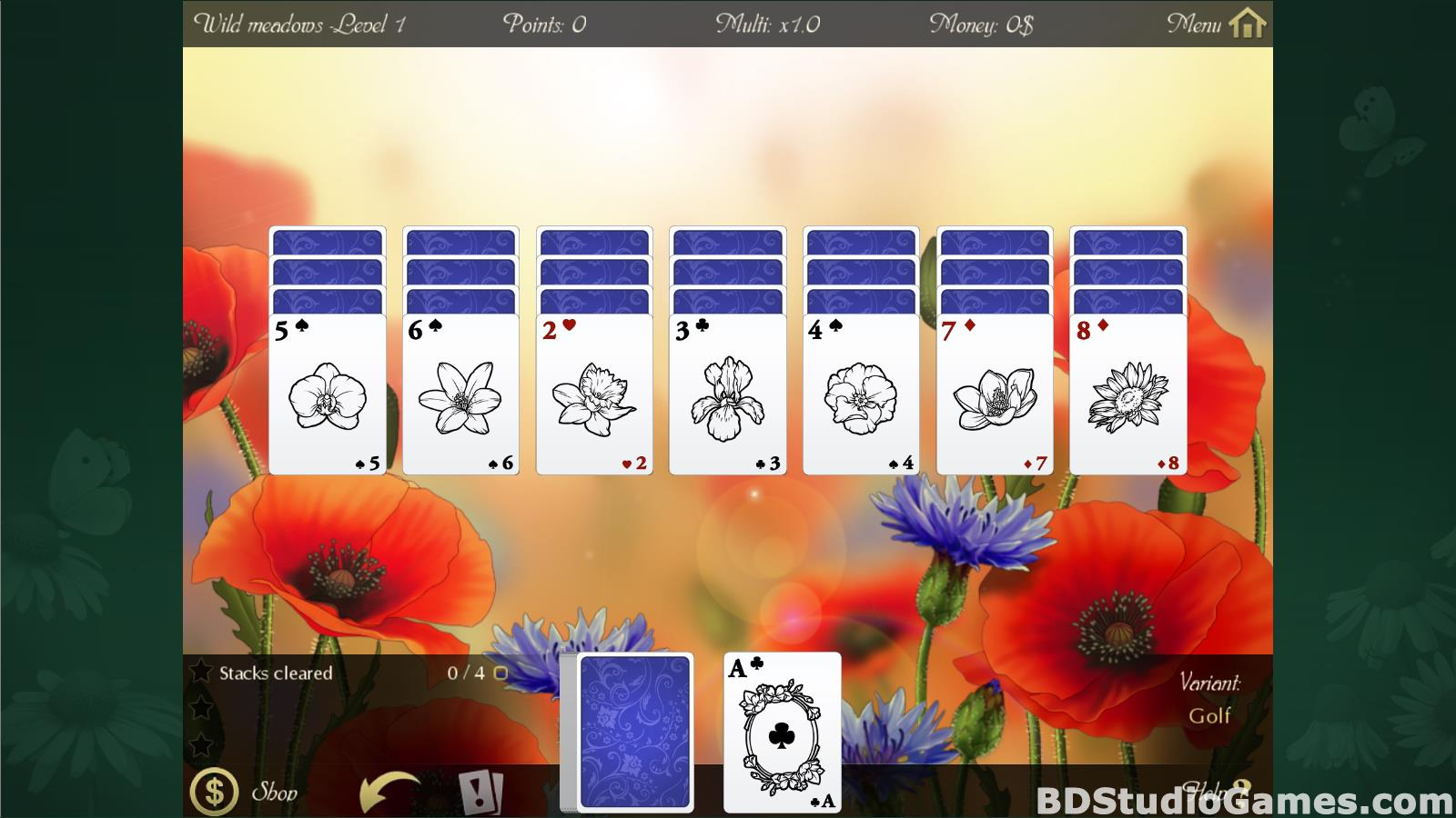 Solitaire Beautiful Garden Season Free Download Screenshots 06
