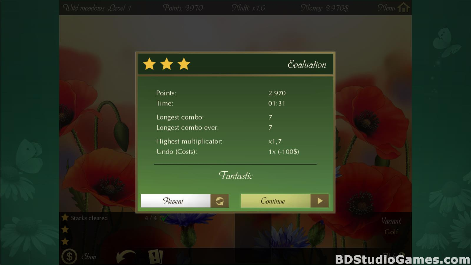 Solitaire Beautiful Garden Season Free Download Screenshots 07