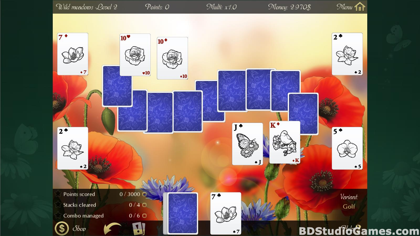 Solitaire Beautiful Garden Season Free Download Screenshots 08