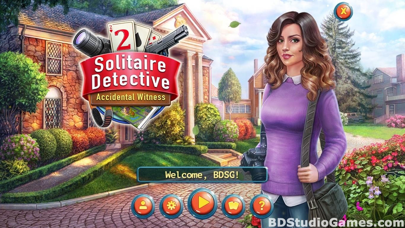 Solitaire Detective 2: Accidental Witness Free Download Screenshots 01
