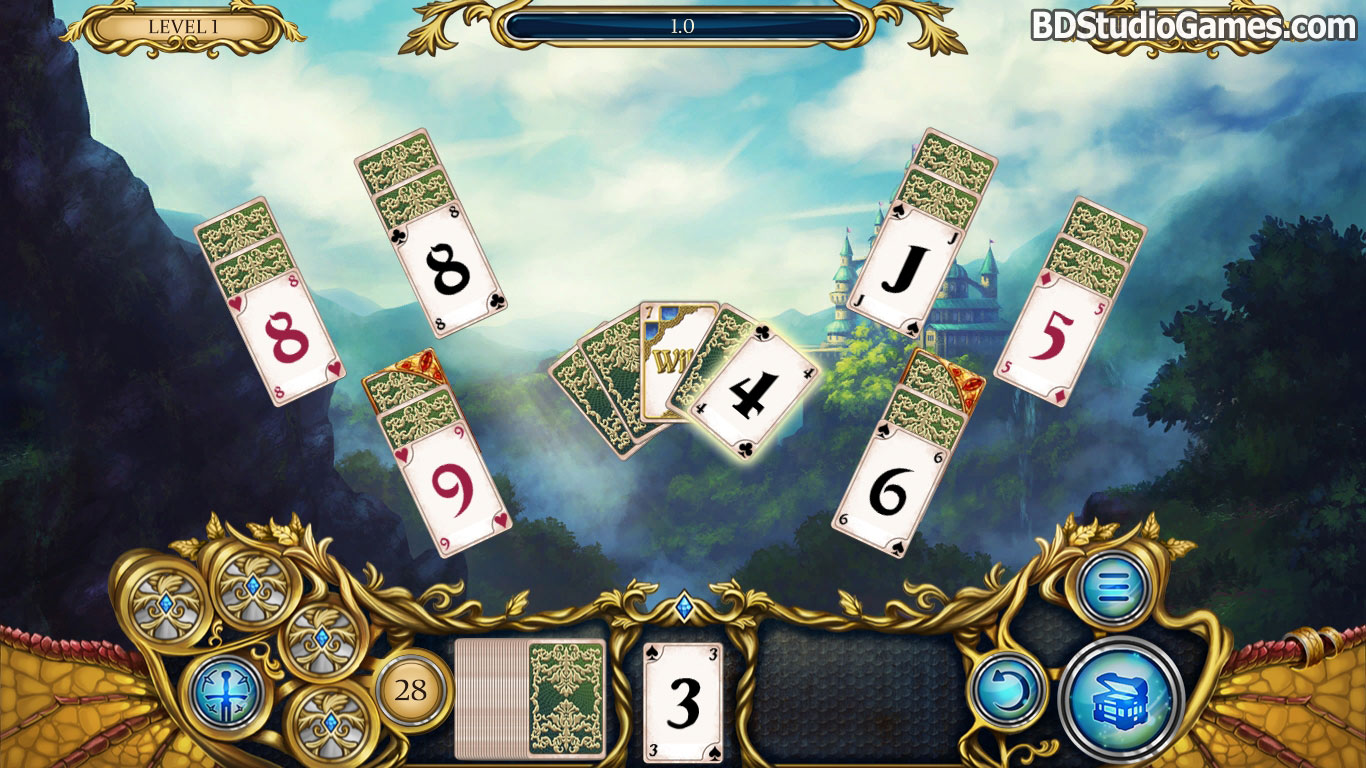 Solitaire Dragon Light Free Download Screenshots 3