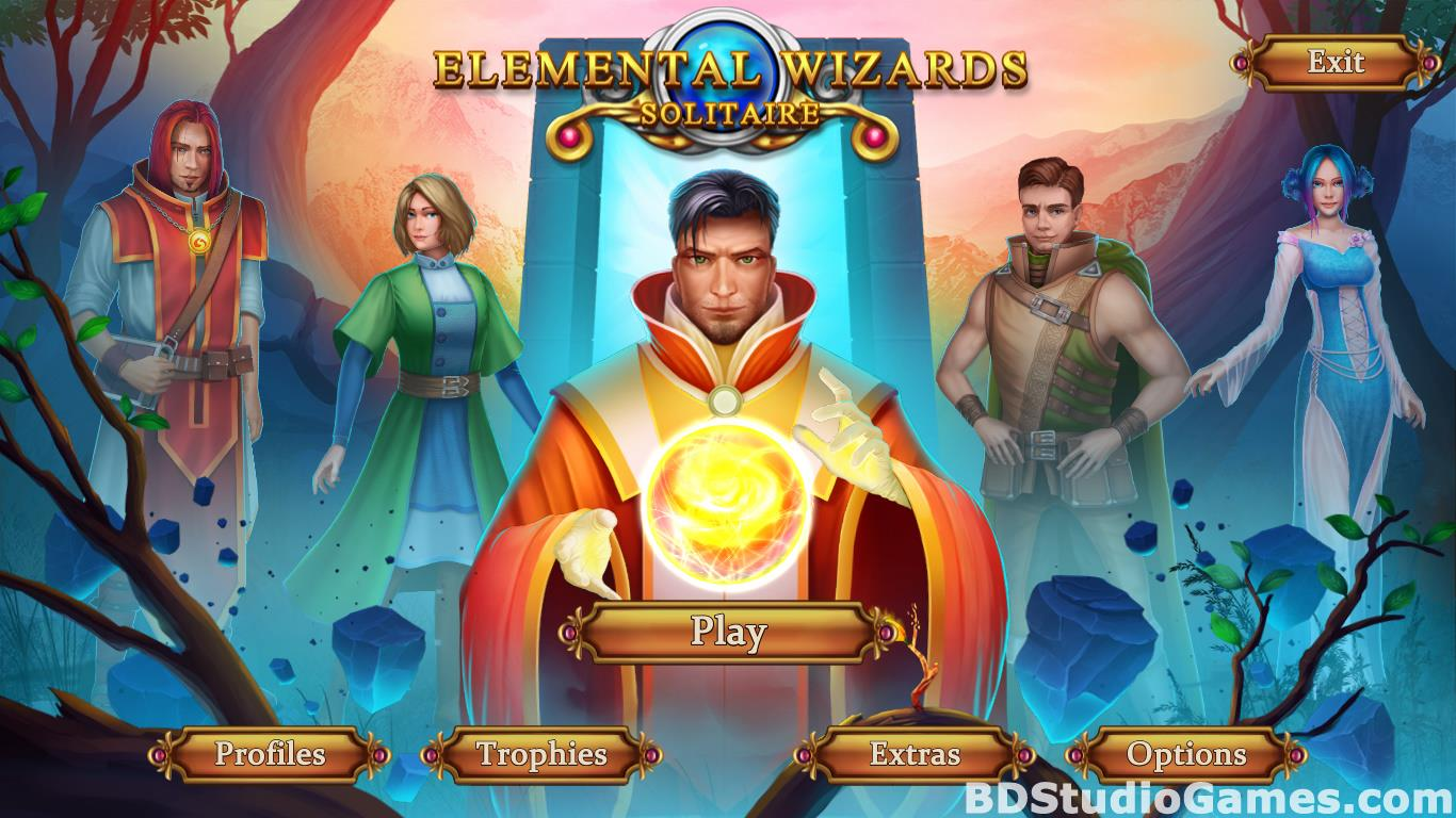 Solitaire: Elemental Wizards Free Download Screenshots 01