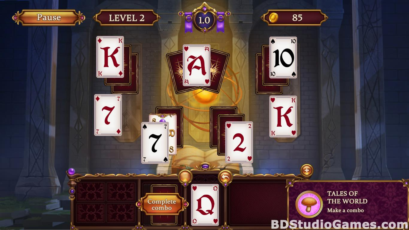 Solitaire: Elemental Wizards Free Download Screenshots 10