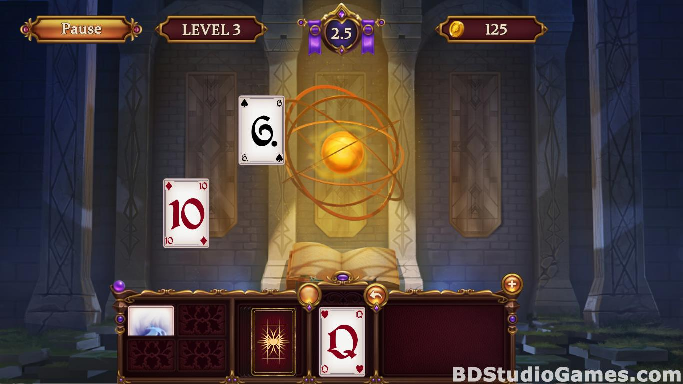 Solitaire: Elemental Wizards Free Download Screenshots 14