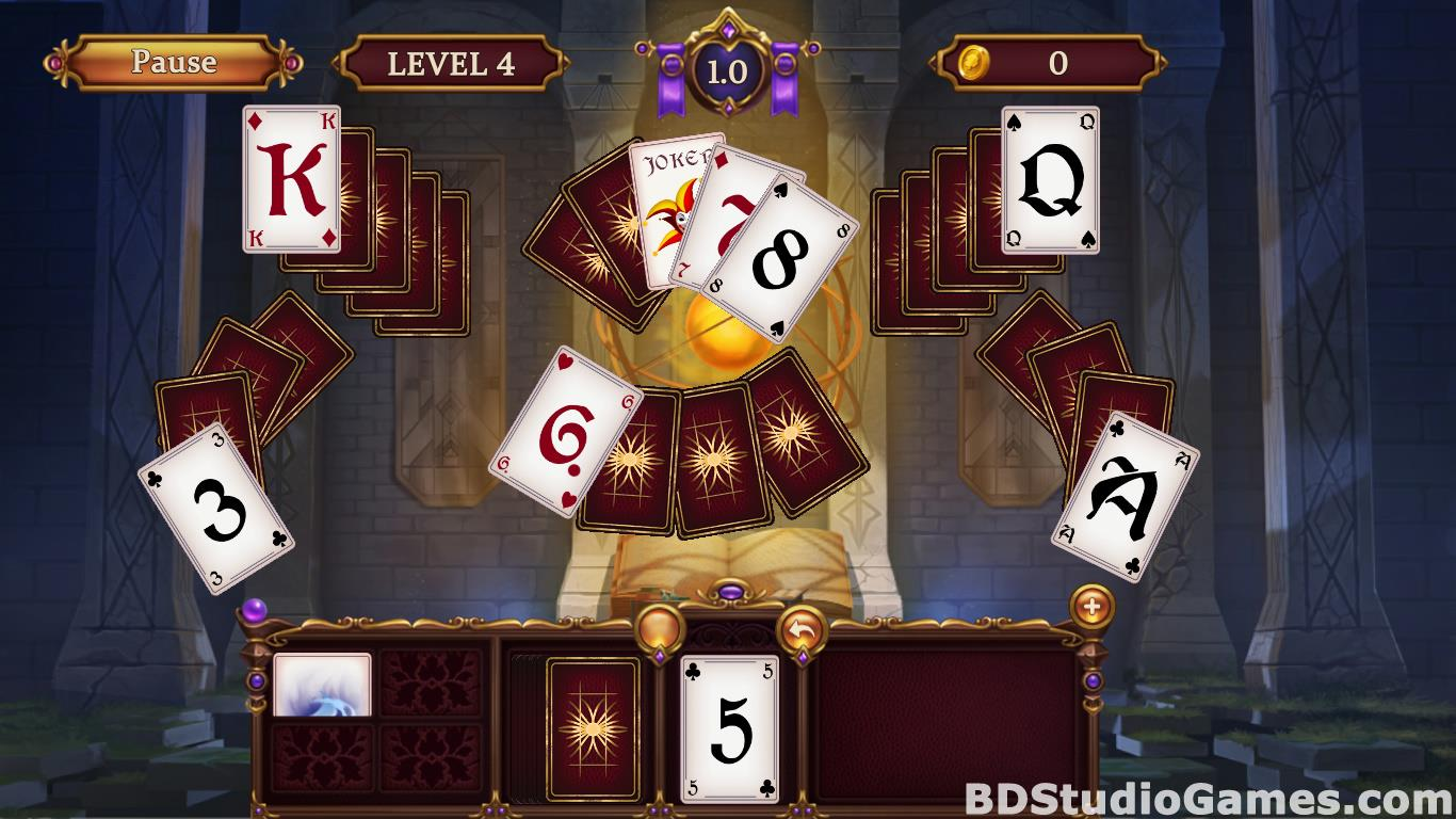 Solitaire: Elemental Wizards Free Download Screenshots 15