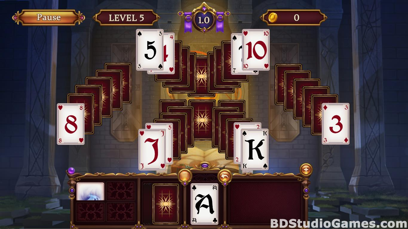 Solitaire: Elemental Wizards Free Download Screenshots 16