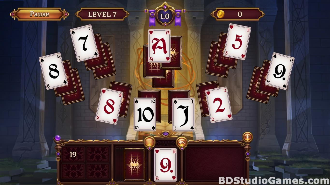 Solitaire: Elemental Wizards Free Download Screenshots 18