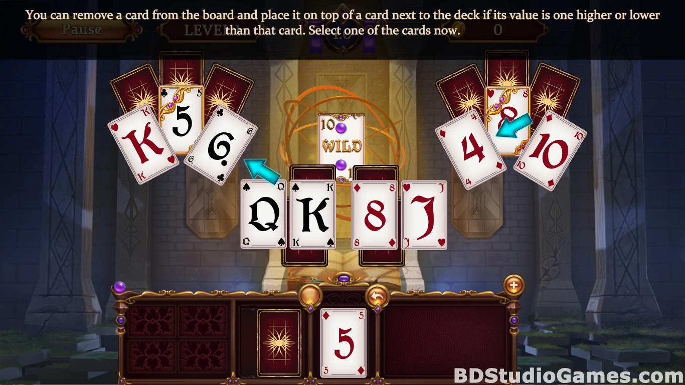 Solitaire: Elemental Wizards Free Download Screenshots 06