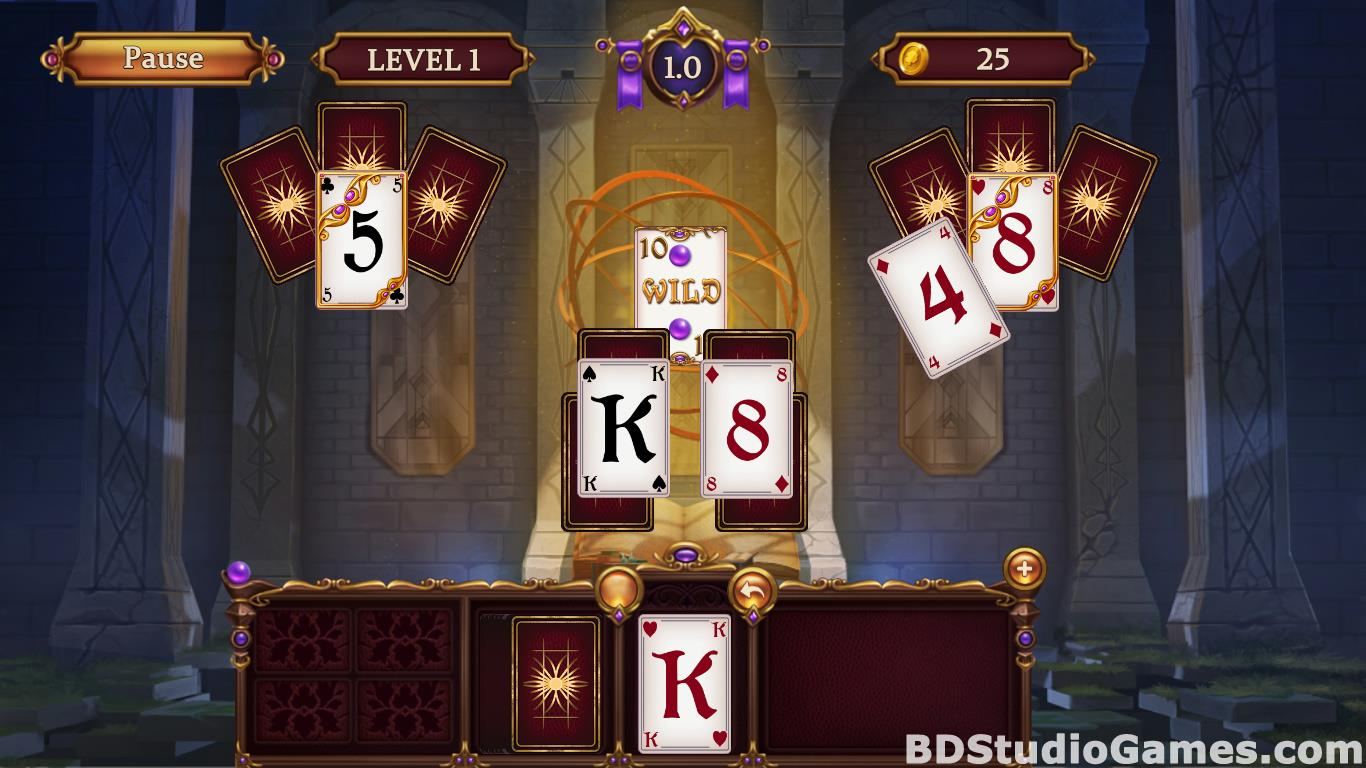 Solitaire: Elemental Wizards Free Download Screenshots 07