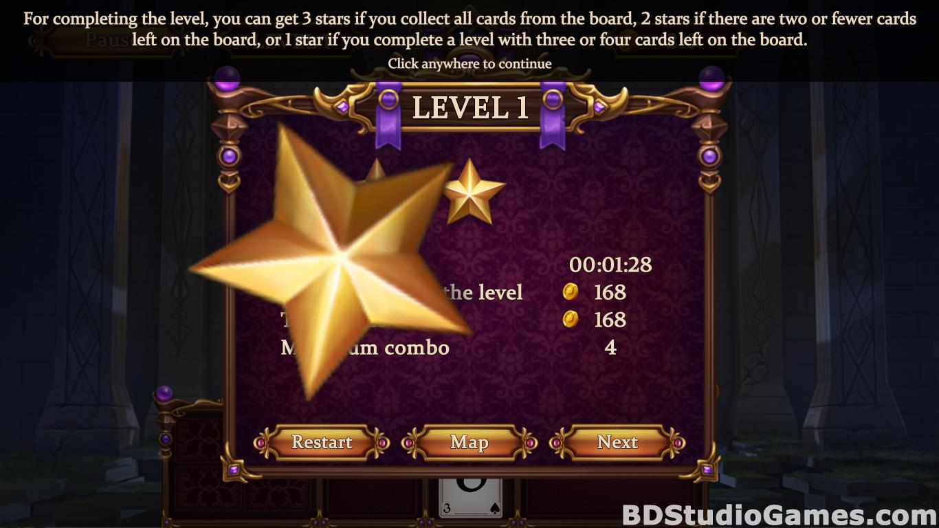 Solitaire: Elemental Wizards Free Download Screenshots 09
