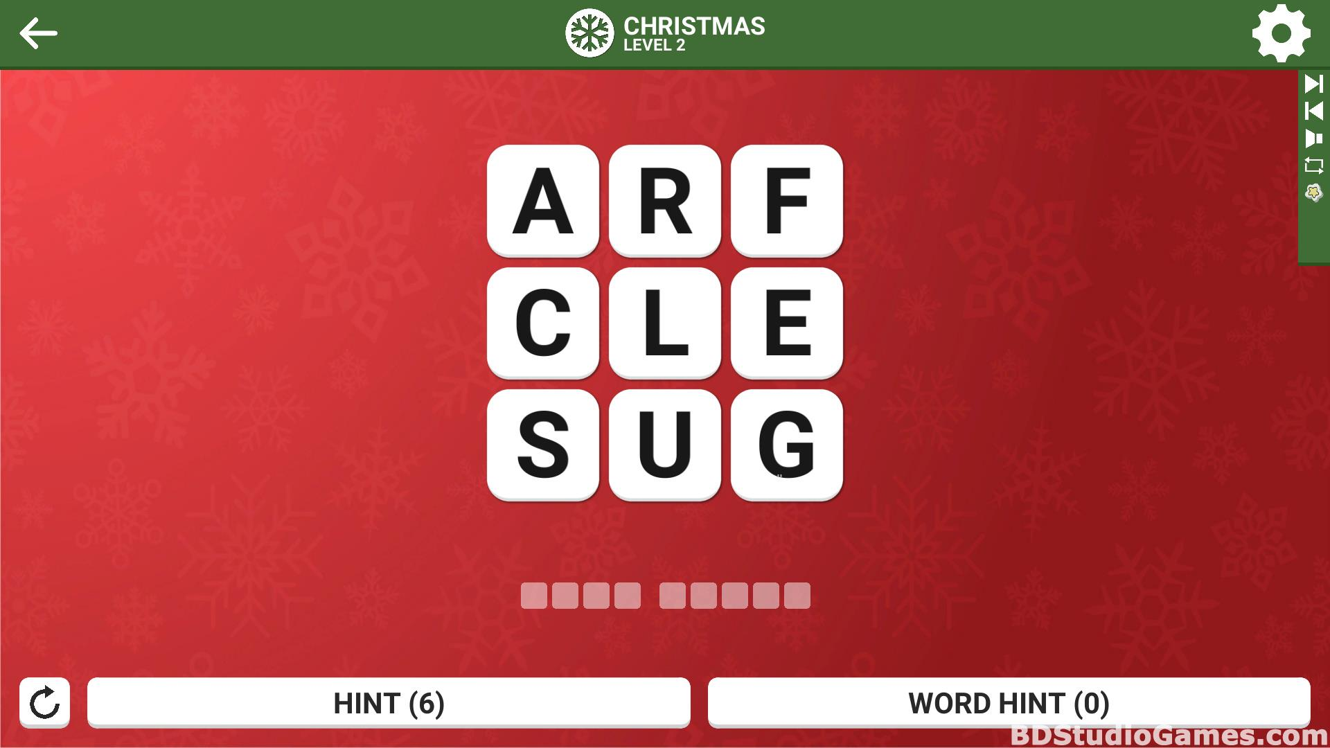 Square Word: Christmas Edition Free Download Screenshots 18