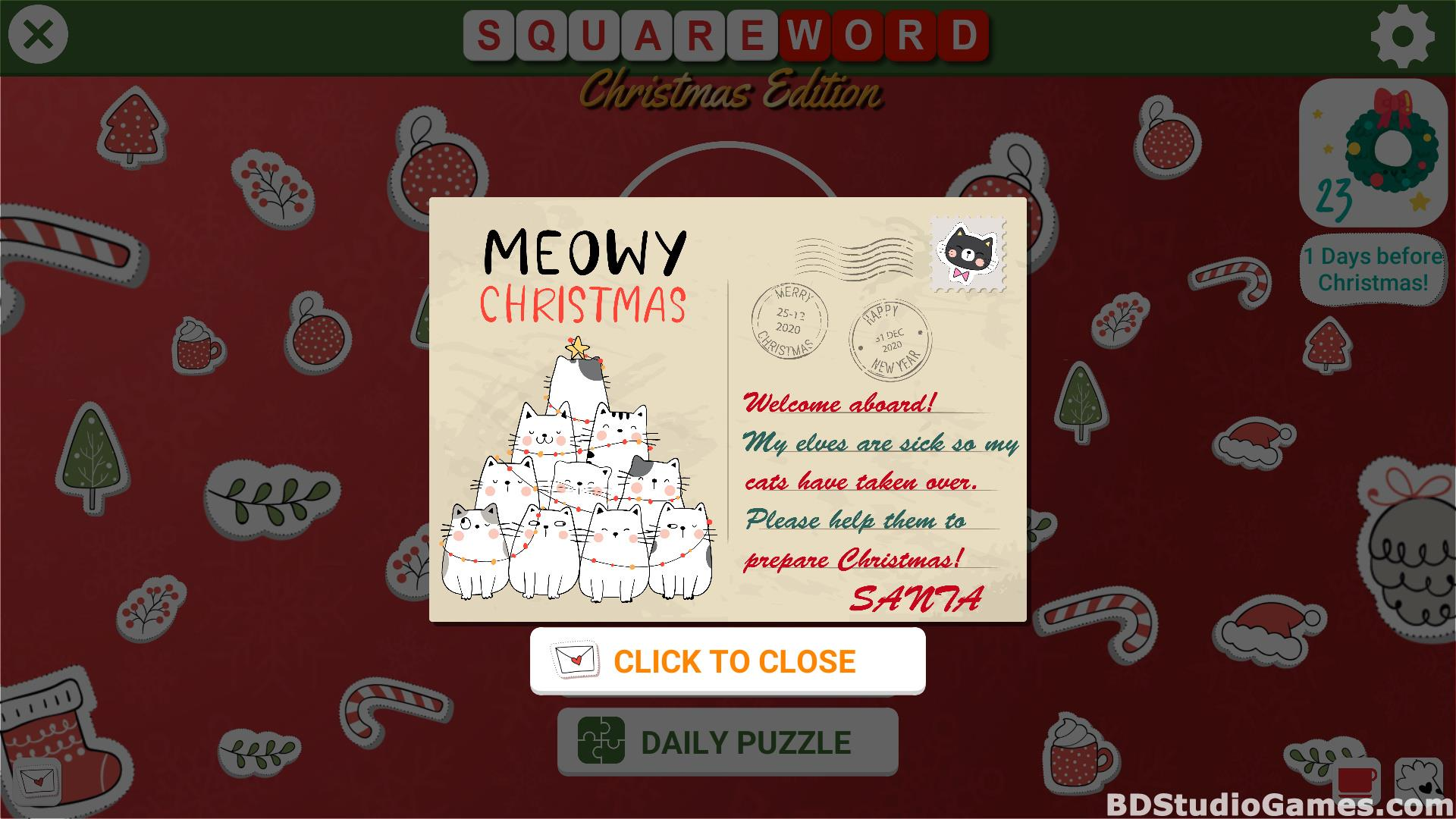 Square Word: Christmas Edition Free Download Screenshots 02