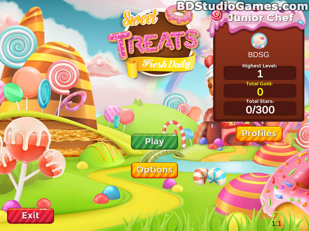 Sweet Treats: Fresh Daily Free Download Screenshots 01