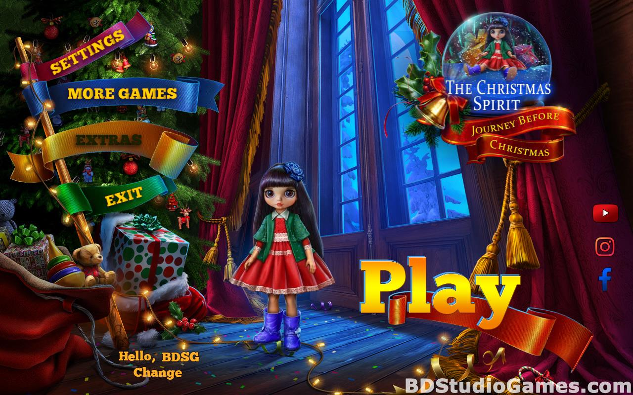 The Christmas Spirit: Journey Before Christmas Collector's Edition Free Download Screenshots 01