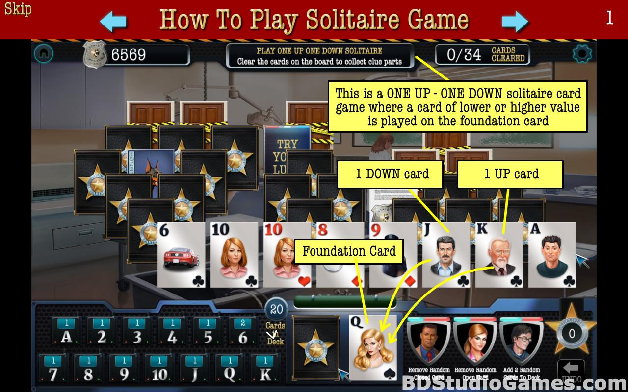 The Deceptive Daggers: Solitaire Murder Mystery Free Download Screenshots 05