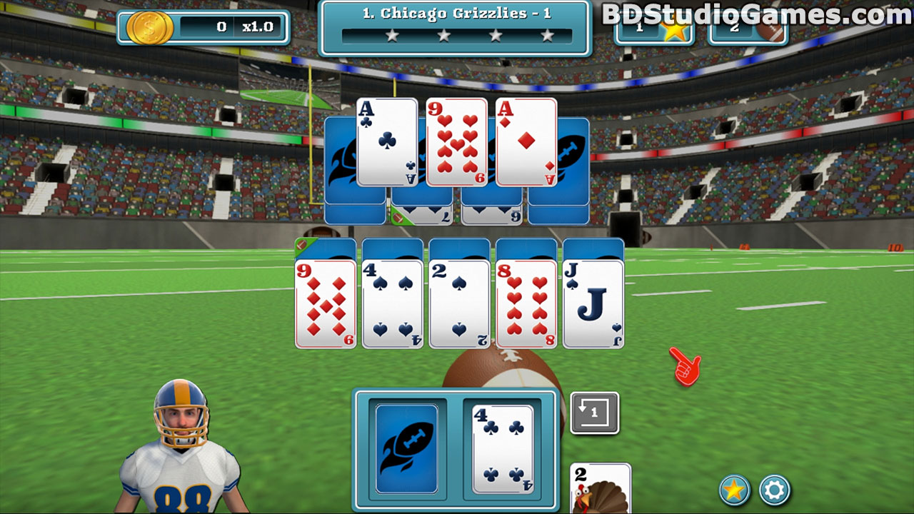 Touch Down Football Solitaire Free Download Screenshots 1