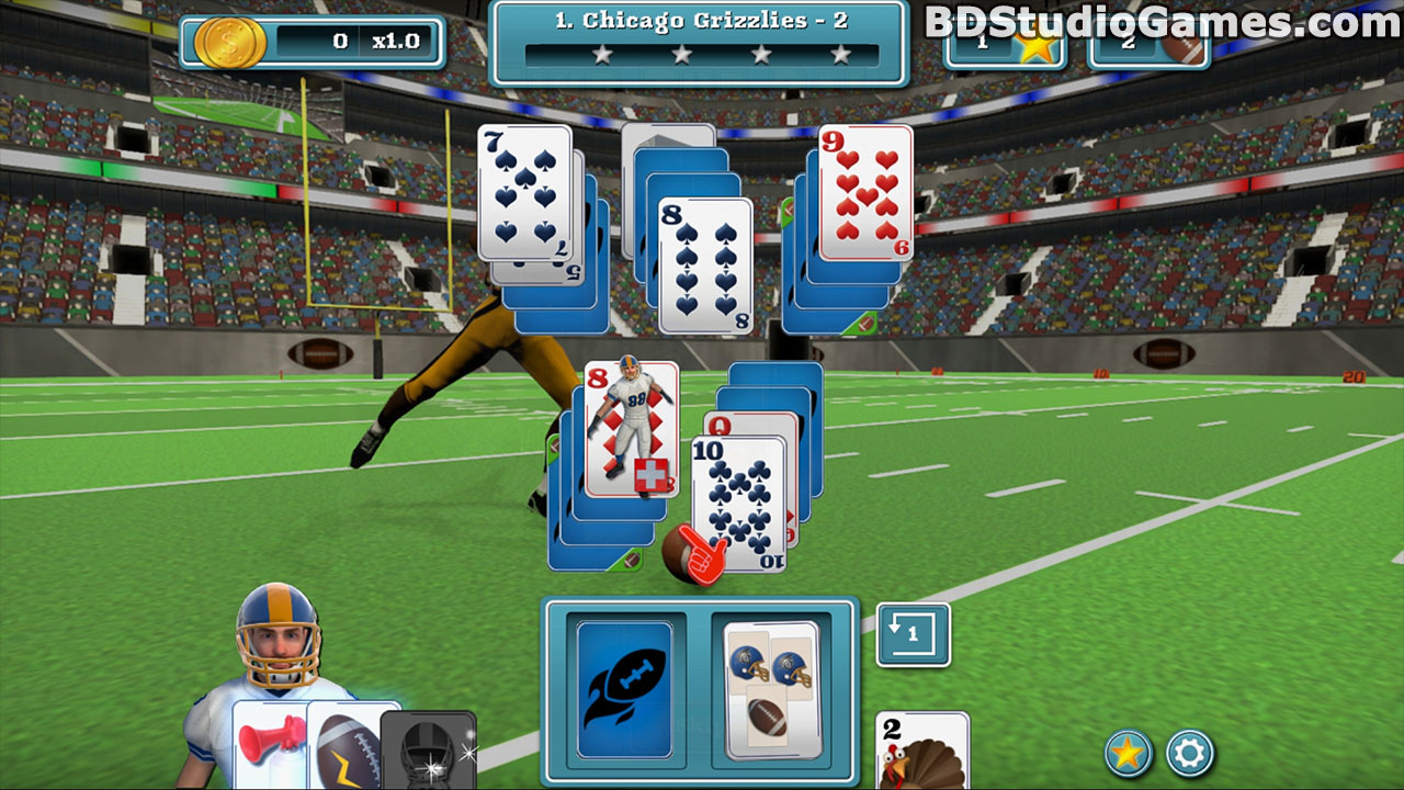 Touch Down Football Solitaire Free Download Screenshots 4