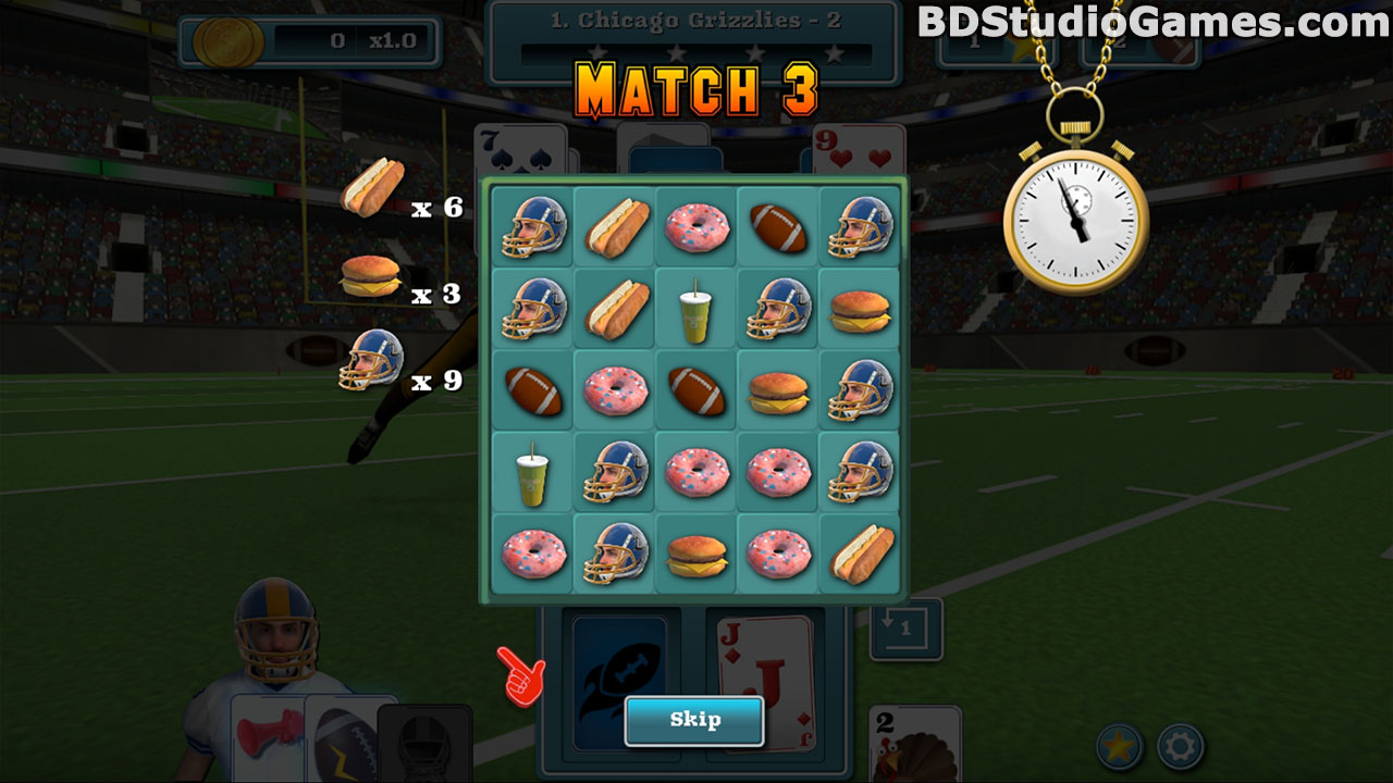Touch Down Football Solitaire Free Download Screenshots 5