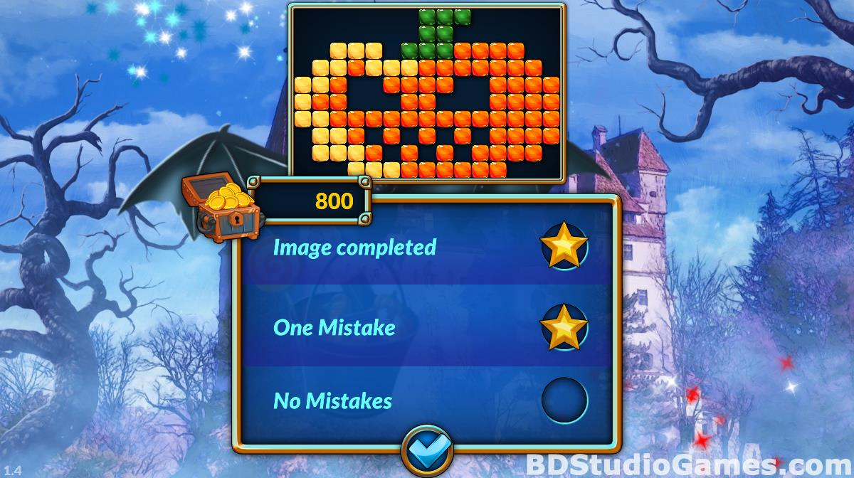 Travel Mosaics 10: Spooky Halloween Game Download Screenshots 14