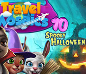 Travel Mosaics 10: Spooky Halloween Gameplay