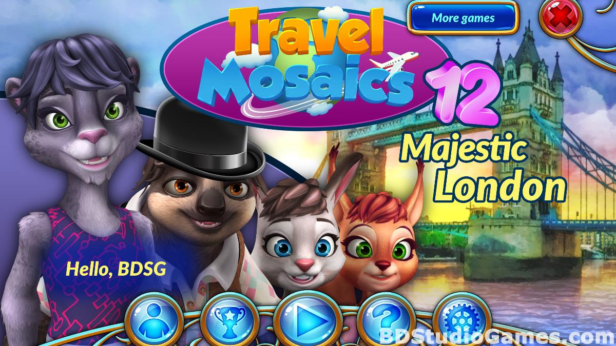 Travel Mosaics 12: Majestic London Free Download Screenshots 01