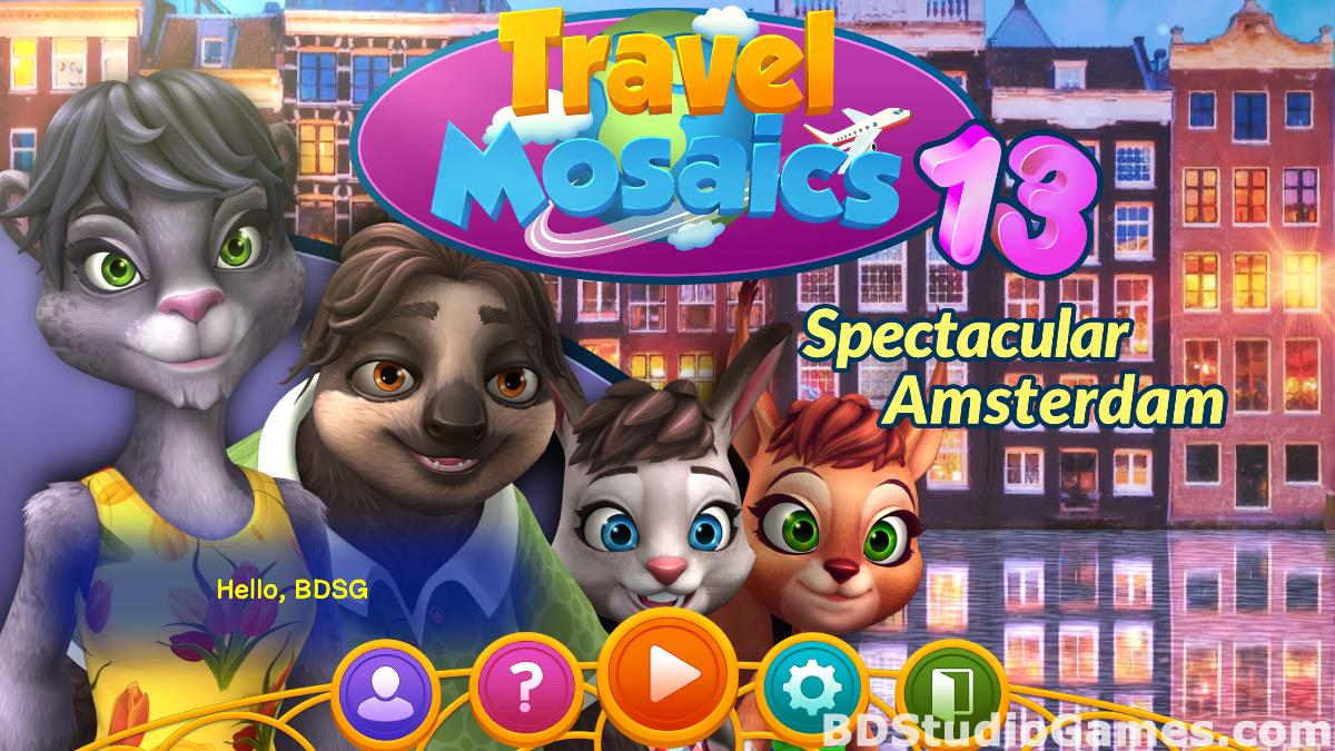 Travel Mosaics 13: Spectacular Amsterdam Free Download Screenshots 01