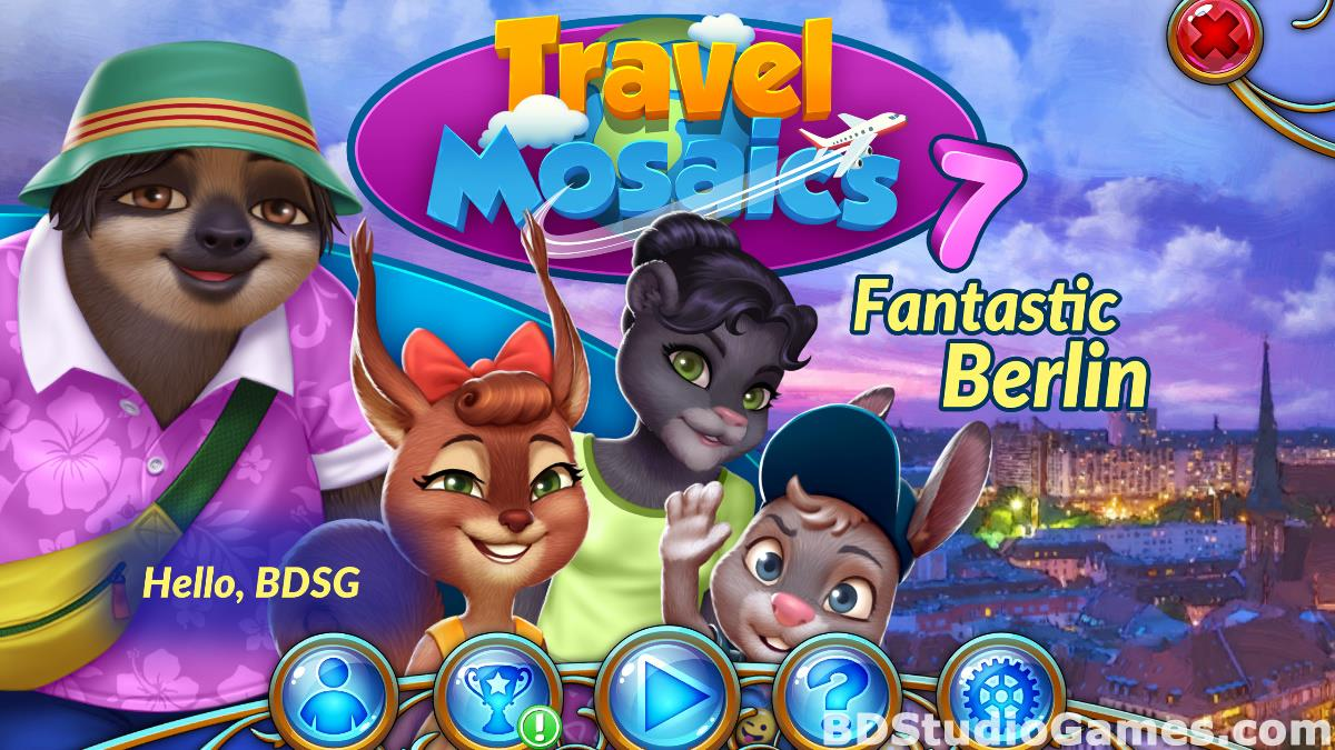 Travel Mosaics 7: Fantastic Berlin Free Download Screenshots 01