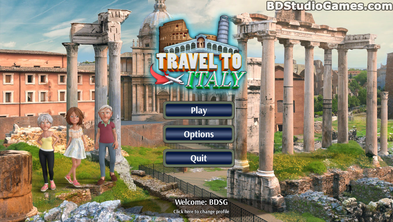 Travel to Italy Free Download Screenshots 1