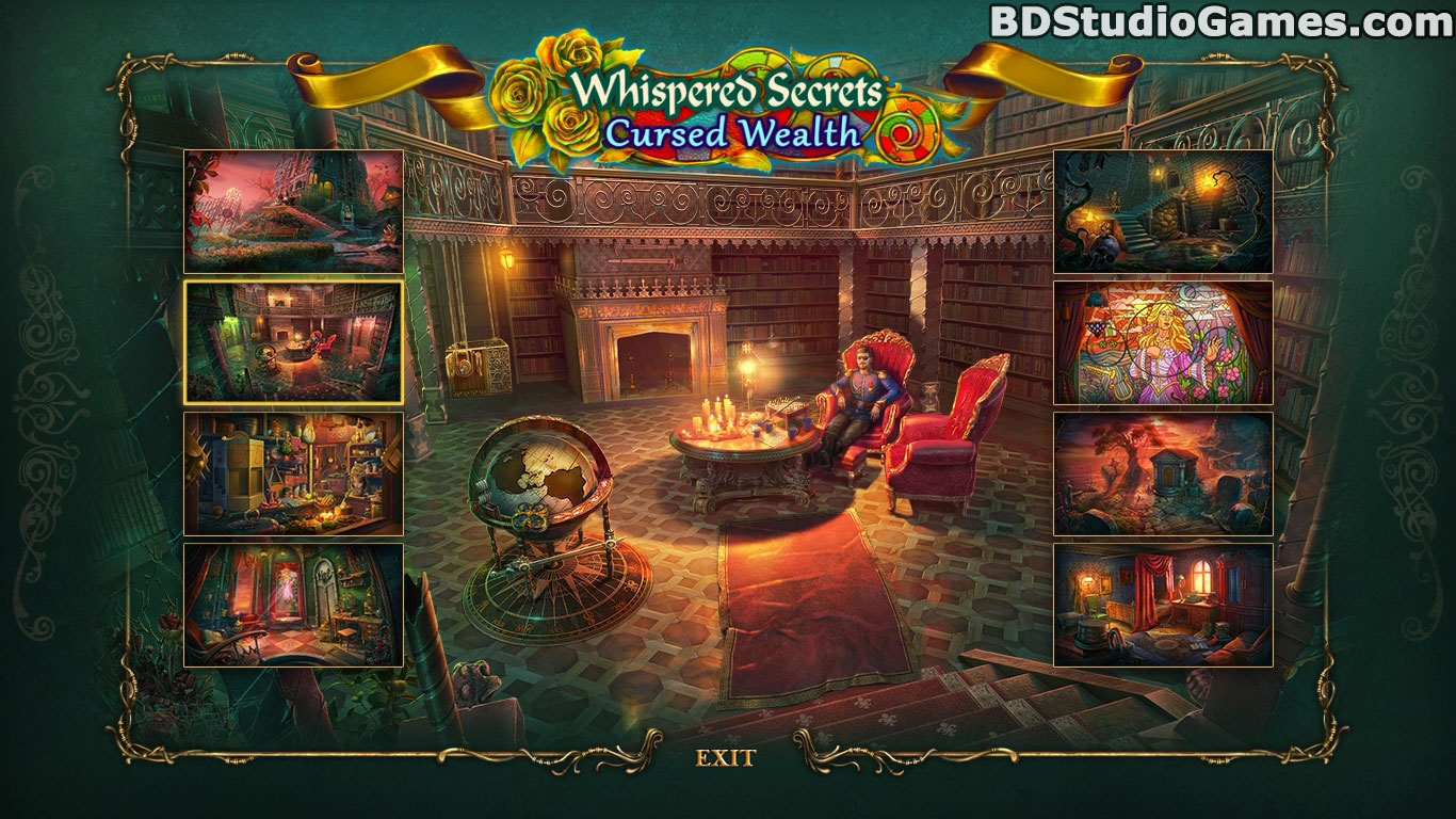 Whispered Secrets: Cursed Wealth Collector's Edition Screenshots 1
