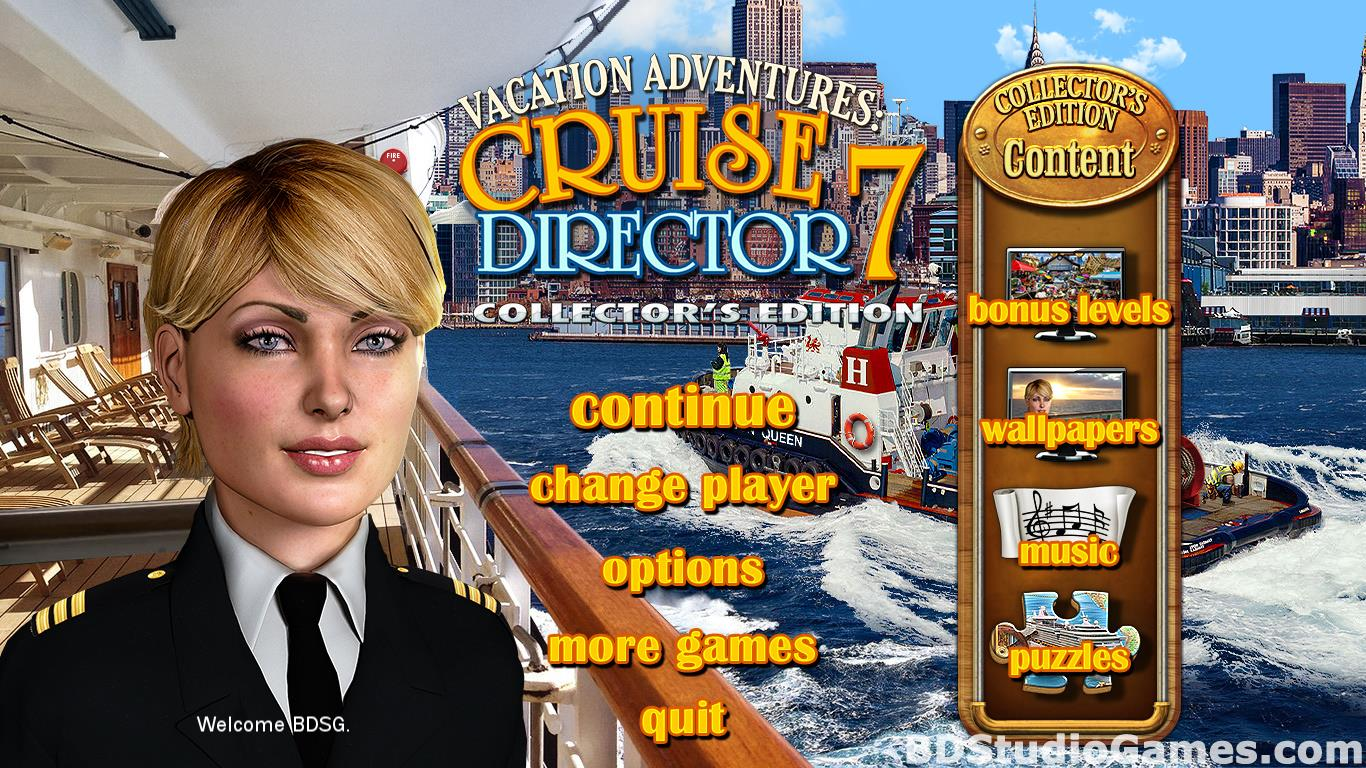 Vacation Adventures: Cruise Director 7 Collector's Edition Free Download Screenshots 01